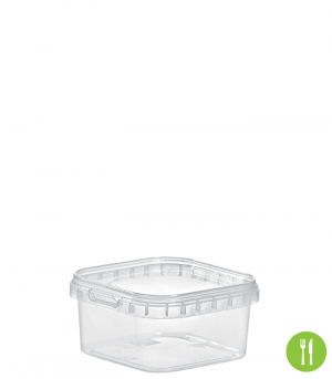 QUADRAT-BECHER 150 ML / 79 x 79 mm / TRANSPARENT