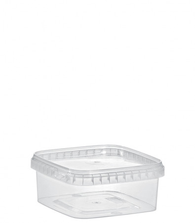 QUADRAT-BECHER 500 ML /128 x 128 mm / TRANSPARENT