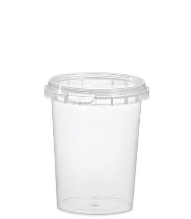 RUND-BECHER 520 ML / NatureBased 50+ / Ø 98 mm / TRANSP.